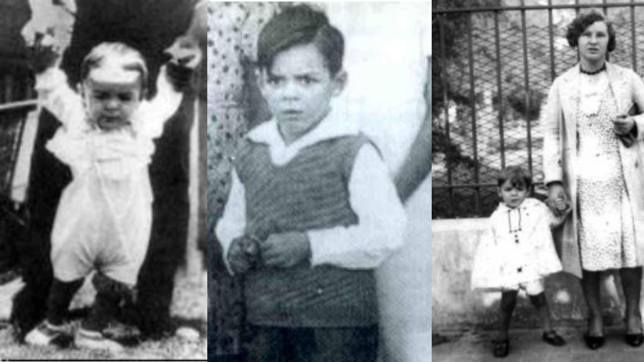Che guevara childhood images