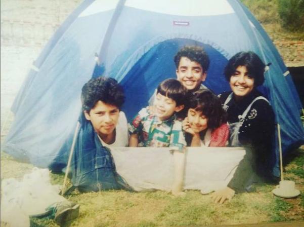 Yuvaraj singh childhood images