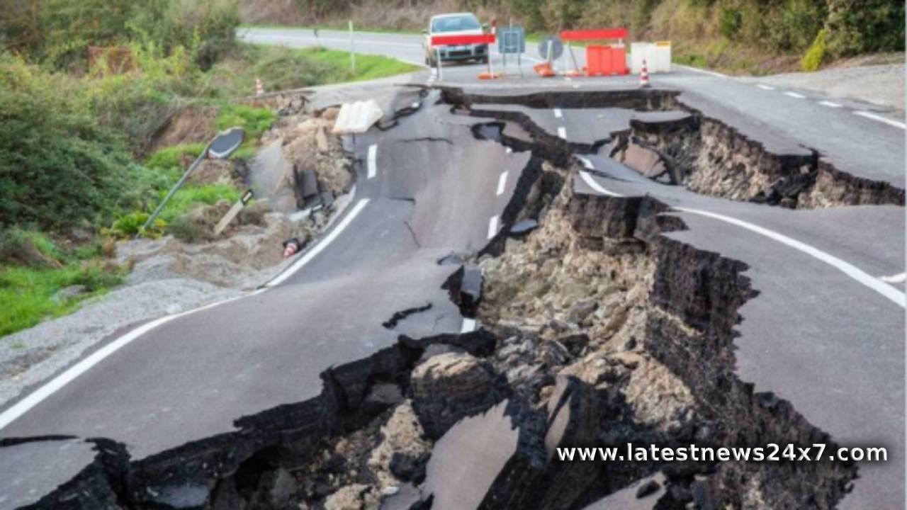 Earthquake in New Zealand 1