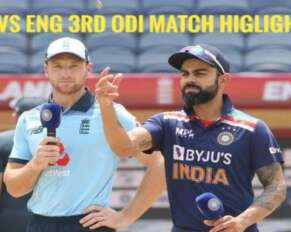 India vs England 3rd ODI Match Highlights