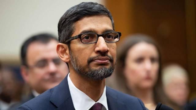 Sundar Pichai as Google CEO