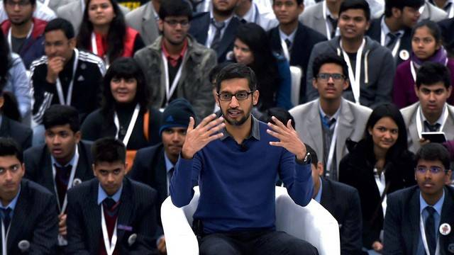 Sundar Pichai as inspiration to the youngsters