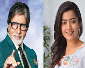Rashmika Mandana hits a chance in Amitabh Bachchan movie