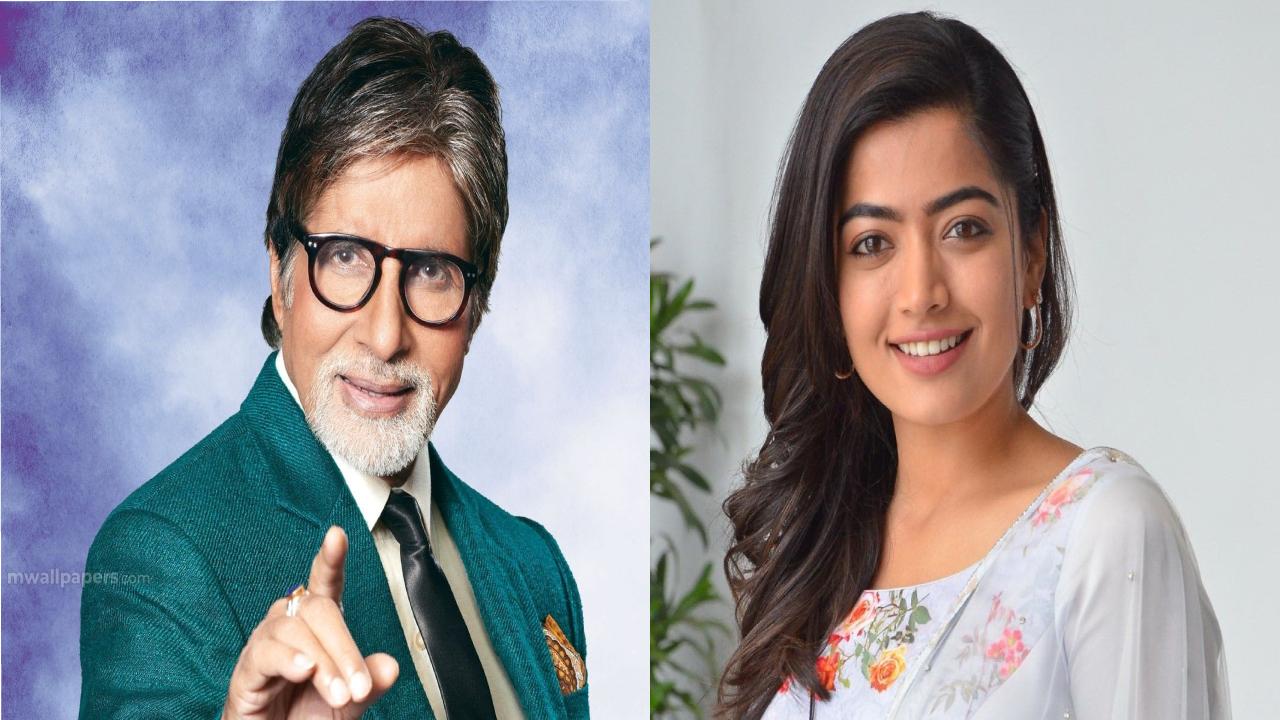 Rashmika Mandana hits a chance in Amitabh Bachchan movie