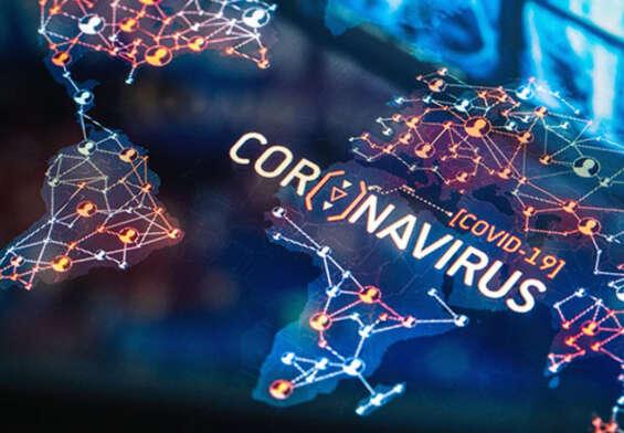 Corona virus is spread through the air