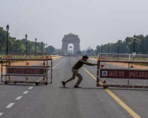 Delhi lockdown extended till May 3 ..!