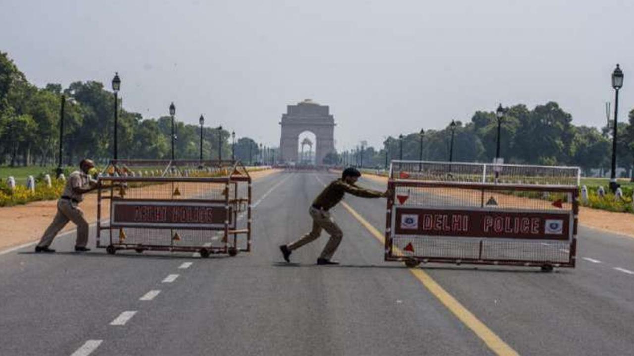 Delhi lockdown extended till May 3 ..!