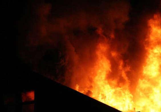 Massive fire at Rani Ganji in Secunderabad