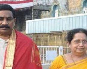 ABN Radhakrishna's wife is dead