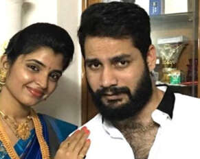 Shyamala's husband arrested in cheating case