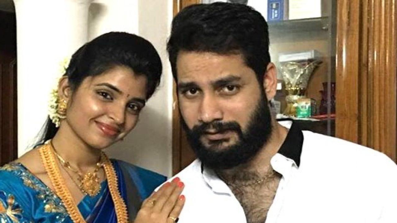 Shyamala's husband arrested in cheating case