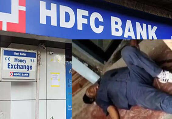 Thieves fire guns at HDFC Bank ATM in Kookatpalli