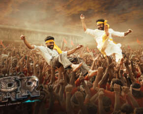 RRR Movie New Poster Details