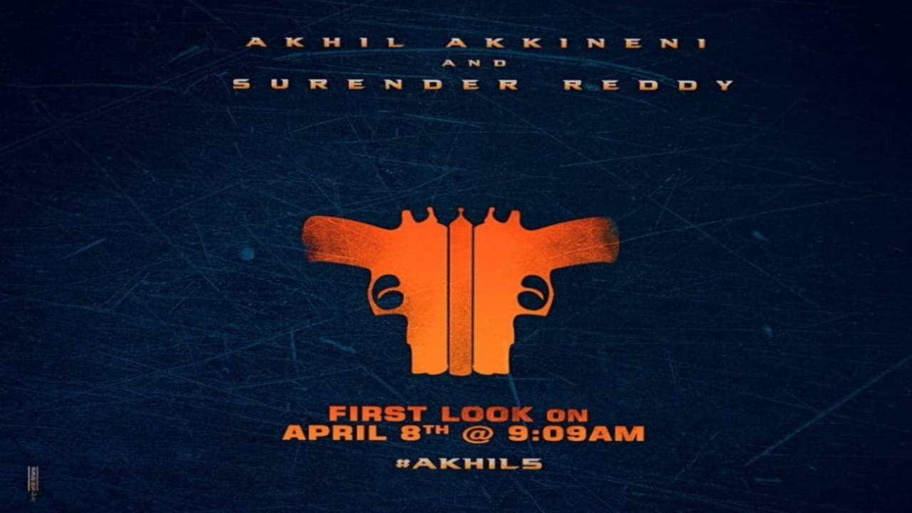 Akhil First Look Poster Details