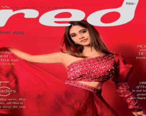 Ismart Shankar Beauty in Red Magazine