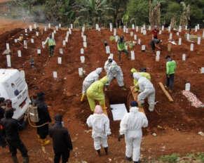 India ranks third in corona deaths