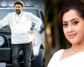 Meena in Balakrishna movie after a long time ..
