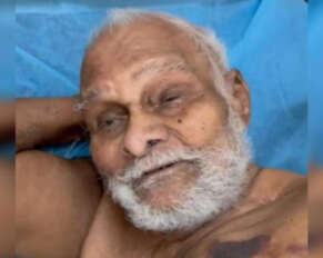110-year-old retired government officer recovering from corona ..!