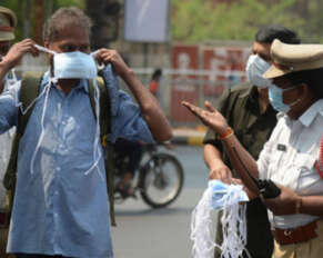 """The Telangana government has collected Rs 31 crore in fines in the name of """"no-mask""""."""