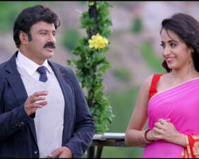Will Balakrishna have a romance with Trisha ..!