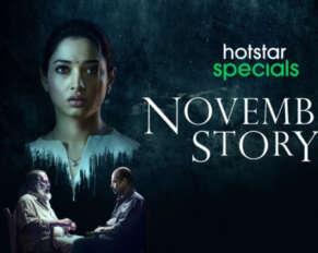 Tamanna November Story is now on Disney + Hotstar ..!