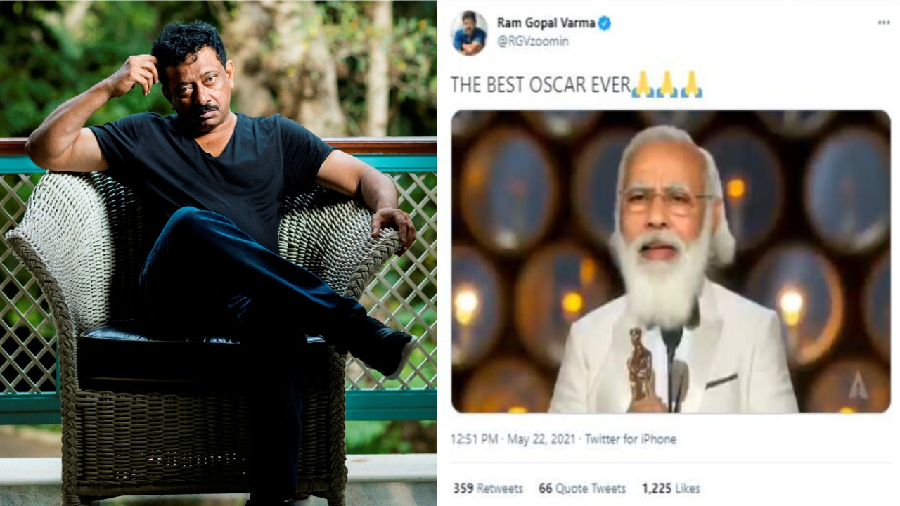 """Verma tweeted about Narendra Modi saying """"The best Oscar ever"""""""