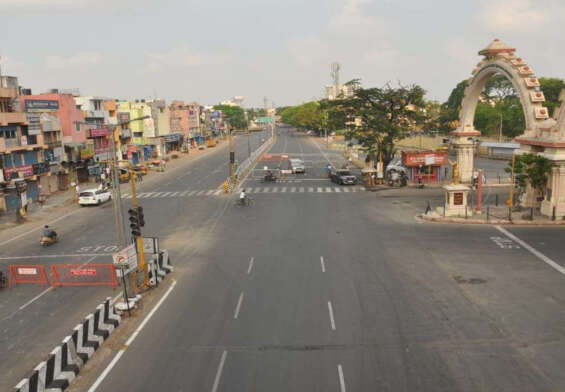 Complete lockdown in Tamil Nadu from Monday