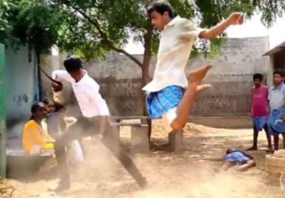 Nellore Kurollu vakeel Saab Fight going viral