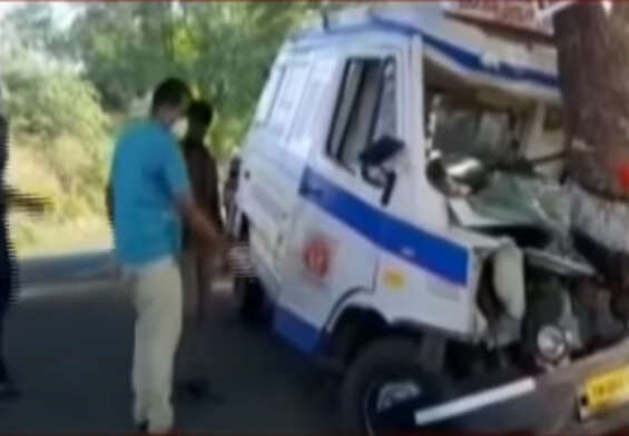 Ambulance hits tree, kills pregnant woman and two others