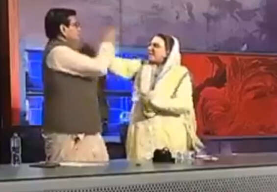 Leaders attacking each other on a TV live show ..