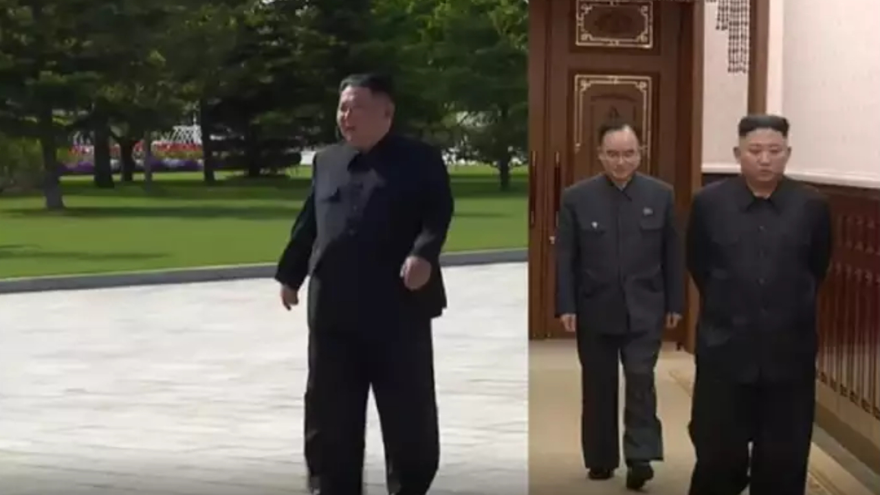 North Korean leader loses weight and becomes slim