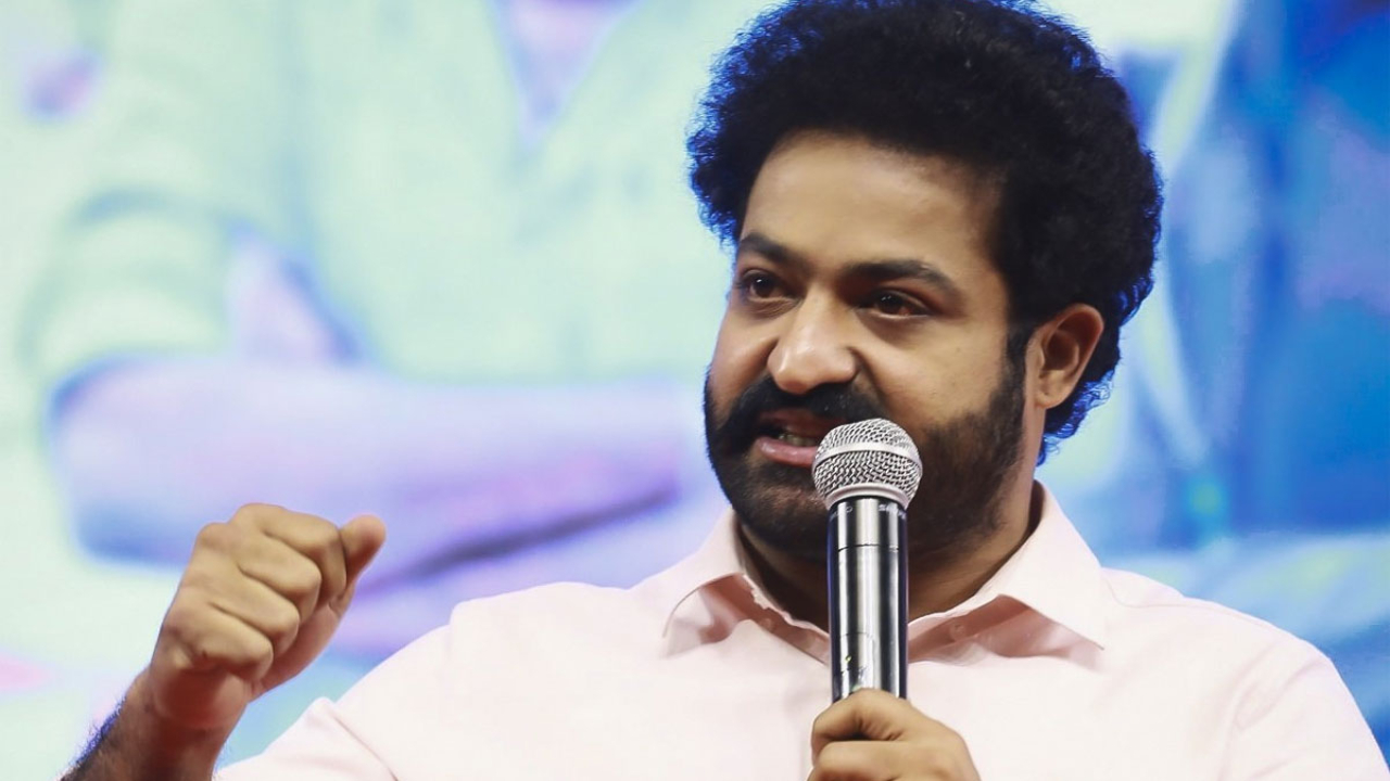 Will NTR appear in the role of a politician?