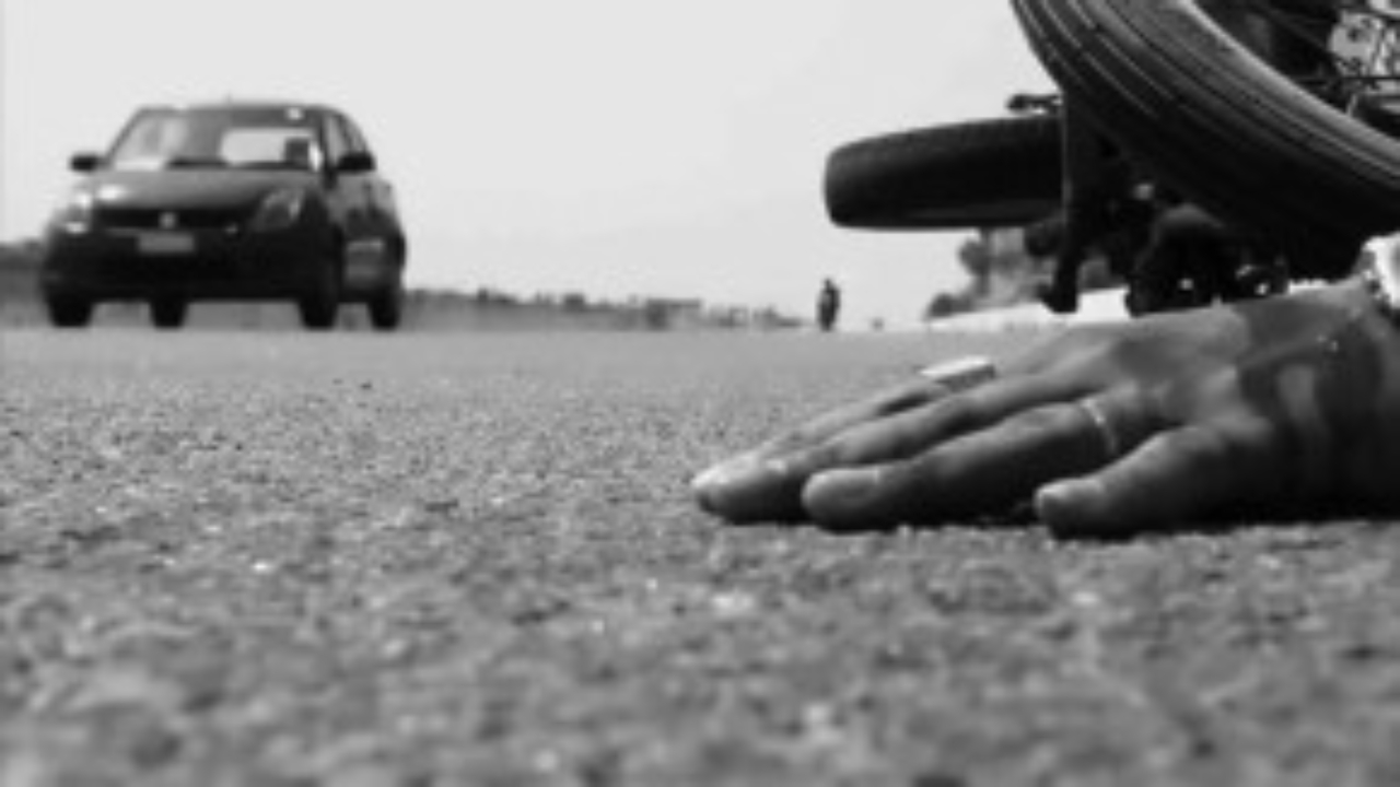 Kurnool district: An RTC bus collided with a couple's two-wheeler