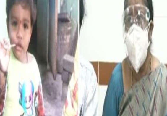 Black fungus: Rare surgery on a 15-month-old baby at Kakinada GGH.