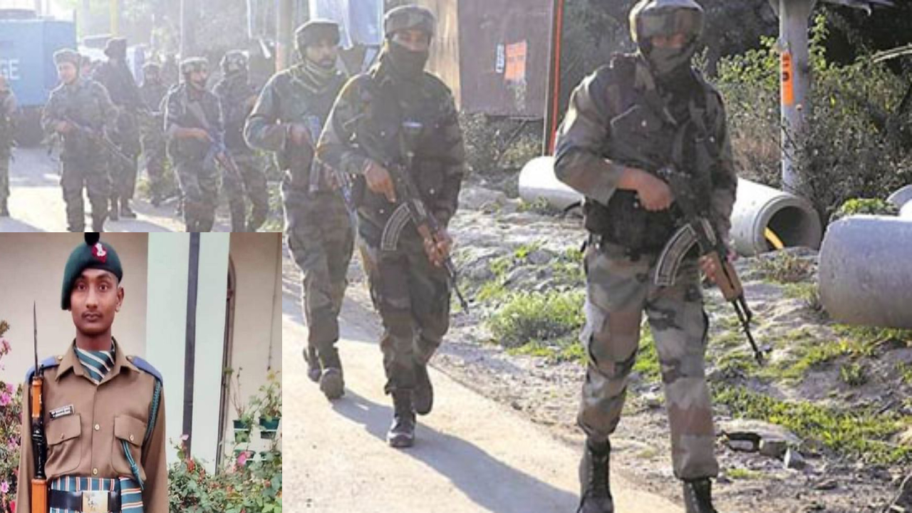 Guntur jawan killed in terrorist firing