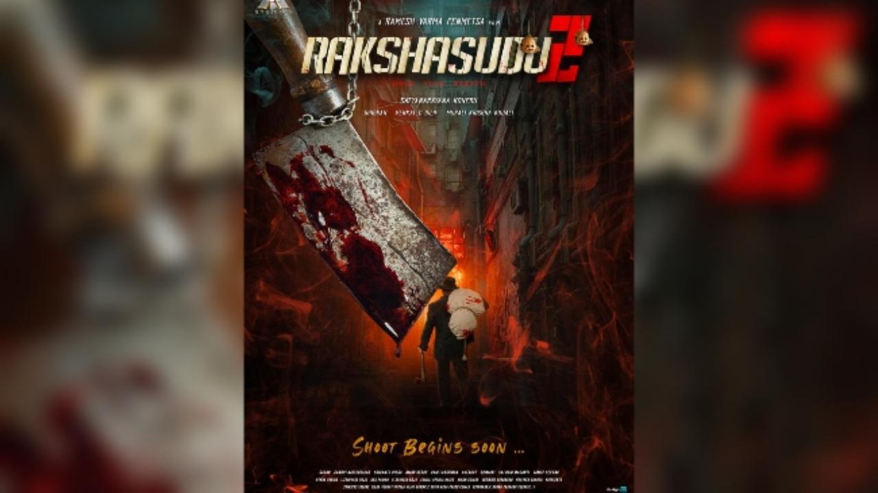 'Rakshasudu 2' title poster released ..!