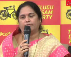 Former TDP MLA Shobha haimavati resigns