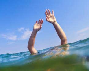 Young man drowns in Godavari river ..!