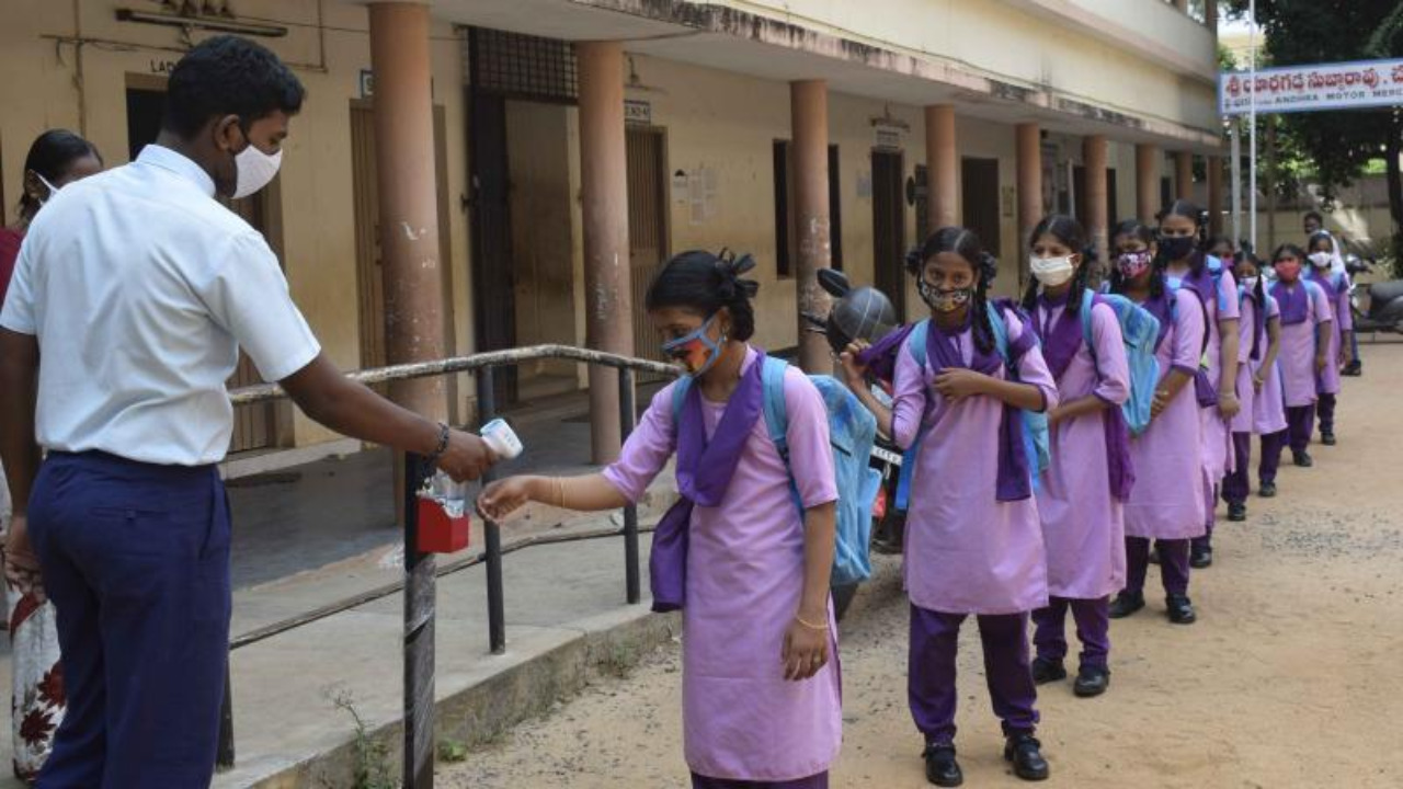 Telangana: Schools to be reopened from September 1 .. Petition filed in High Court against re-opening of schools .. Petition to be heard tomorrow ..