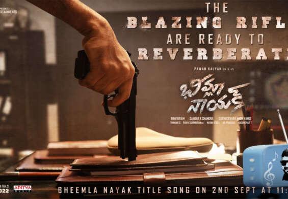 Bhimla Nayak title song ready ..!