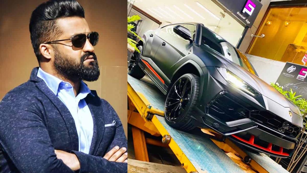 NTR bought the most expensive 'Lamborghini' car
