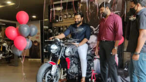Case registered against hero Sai Dharam Tej .. Accident sports bike details