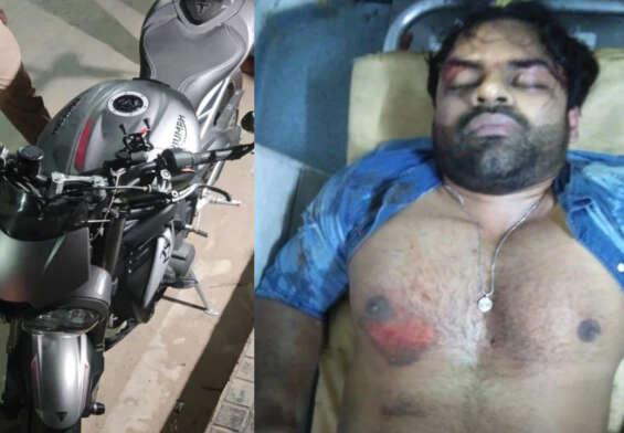 Case registered against hero Sai Dharam Tej .. Accident sports bike details,